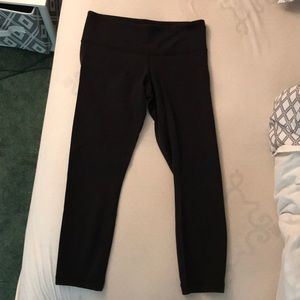 Lululemon High Waisted Reversible Crop Leggings